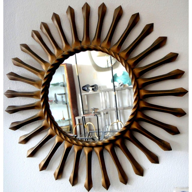 Image of Vintage Chaty Vallauris Signed French Mirror