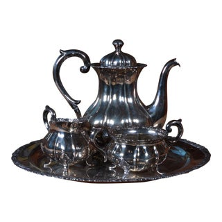 Antique Danish Silver Tea/Coffee Service - Set of 4
