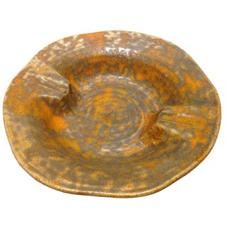 Haeger Mid-Century Orange Peel Ashtray