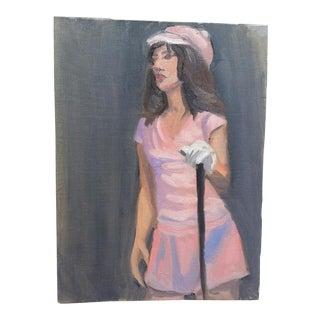 Vintage Golf Portrait