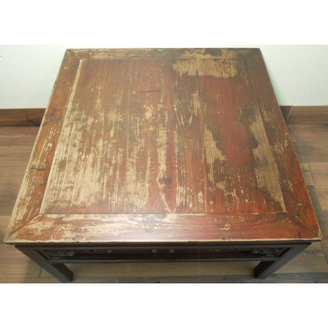 Antique Ming Coffee Table - Image 7 of 8