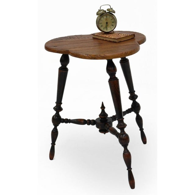 Sarreid Ltd. Turned Leg Tripod Side Table - Image 5 of 5