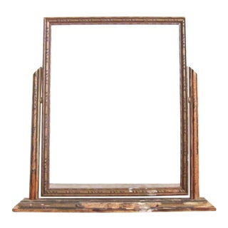 Vintage Victorian Art Deco Swinging 8 x 10 Wood Picture Frame