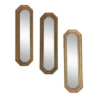 Octagonal Mirrors - Set of 3