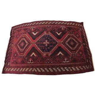 Handmade Persian Luri  Rug - 7″ × 11″