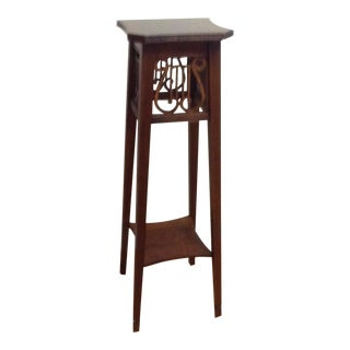 Ethan Allen Lyre Plant Stand