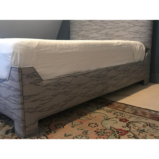 Custom Upholstered Queen Bed - Image 4 of 8