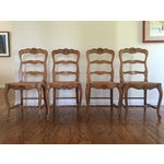 Image of Wood French Country Dining Chairs - Set of 6