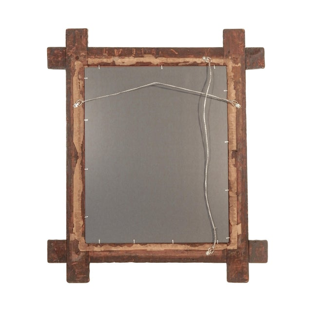 Tramp Art Mirror - Image 5 of 7