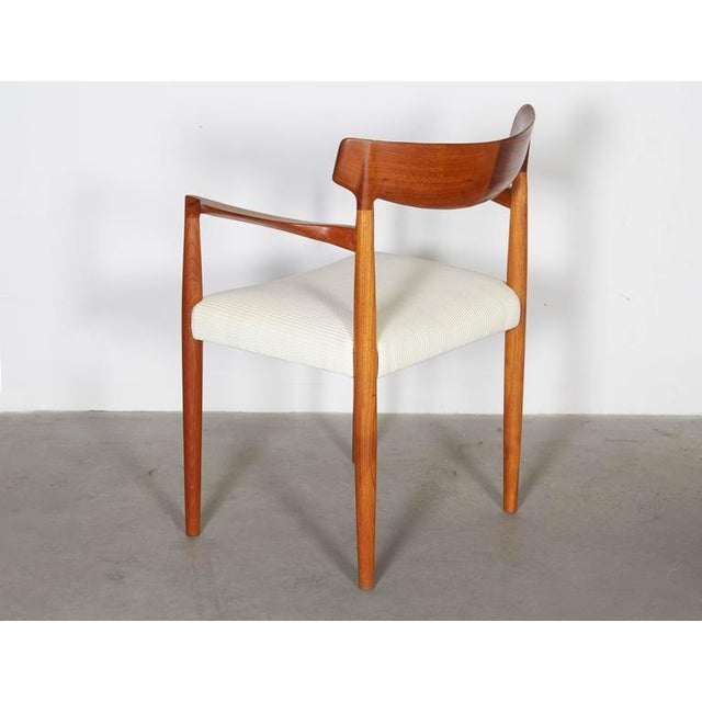 Danish Modern Arm Chairs by Knud Faerch, Pair - Image 3 of 8
