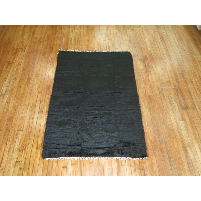Vintage Mohair Rug - 4'7'' x 6'9'' - Image 6 of 9