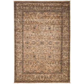 """New Gabbeh Hand Knotted Area Rug - 6'5"""" x 9'5"""""""