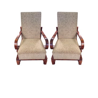 Beige Hungarian Chairs - A Pair