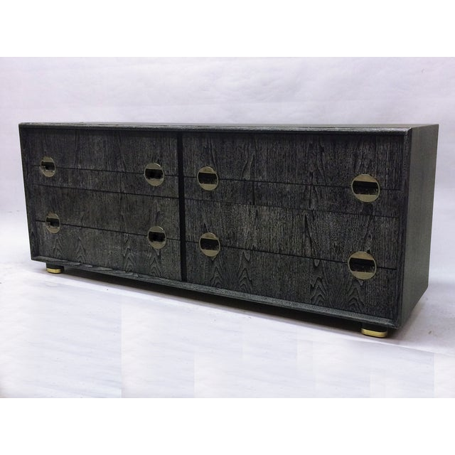 Image of Johnson Furniture Company Cerused Chest of Drawers