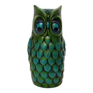 Vintage Ceramic Owl Figure