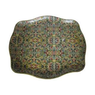 Florentine Style Papier-Mache Tray