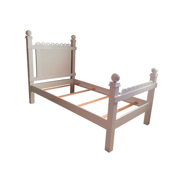 """Maine Cottage """"Lizzie"""" Fairytale Twin Bedframe - Image 1 of 10"""