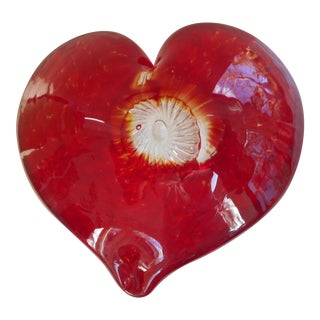 Red Heart Paper Weight