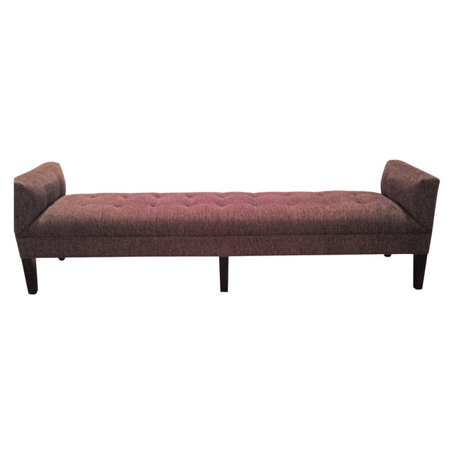 Mitchell Gold + Bob Williams Tufted Bench - Image 1 of 7