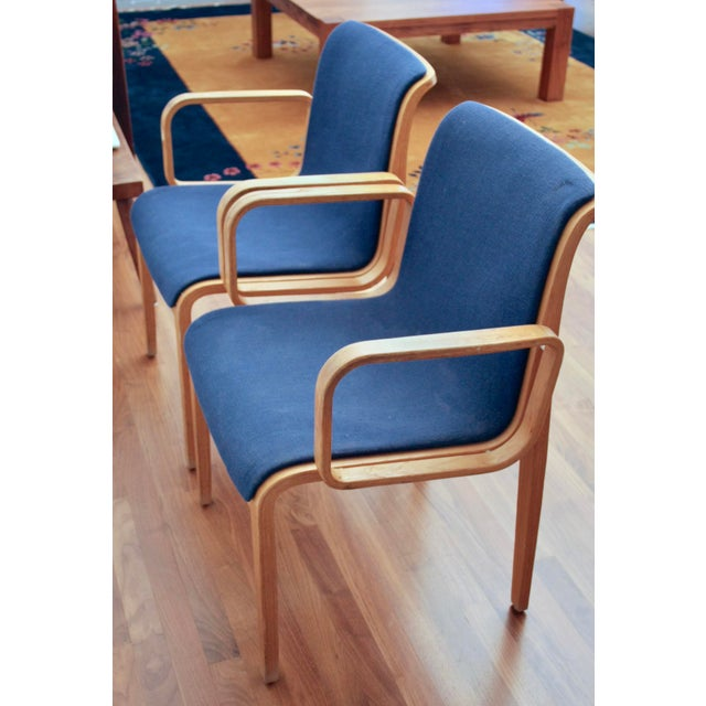Bill Stephens for Knoll Arm Chairs, a Pair - Image 2 of 8