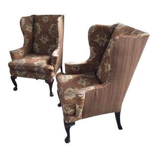 Wingback Chairs - A Pair