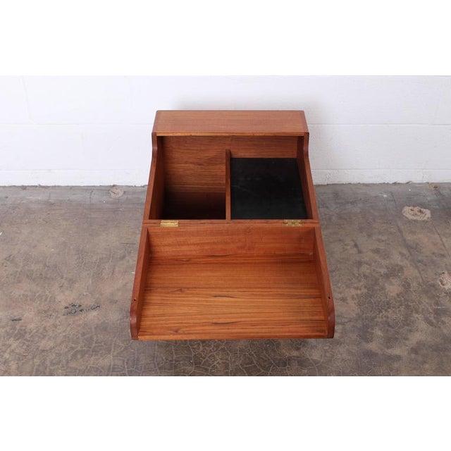 Hans Wegner Teak Cube Bar - Image 8 of 10