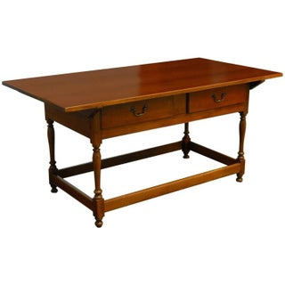 19th Century American Federal Library Table