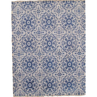Hand Knotted Modern Silk Rug - 8' X 10'