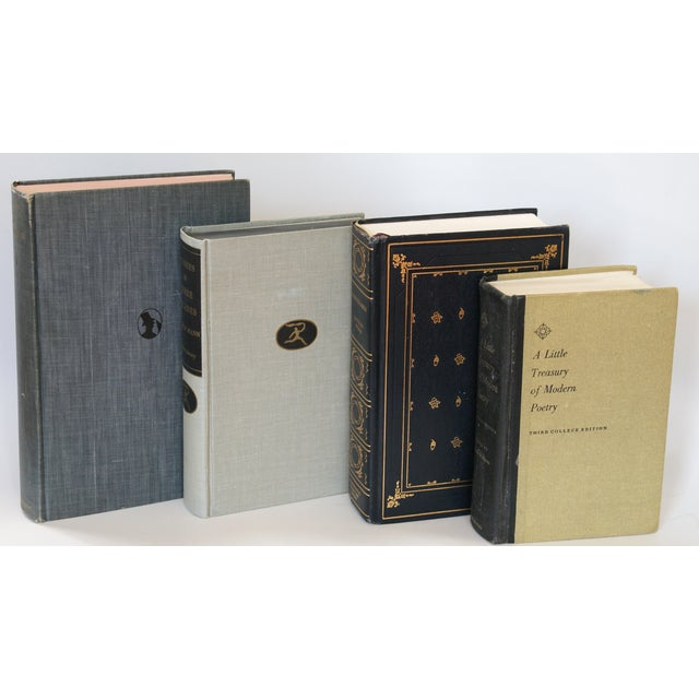 Image of Black & Grey Vintage Books - Set of 4