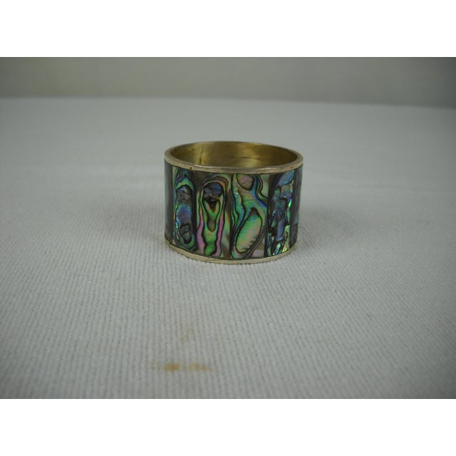 Abalone Shell Napkin Rings - Set of 8 - Image 7 of 8
