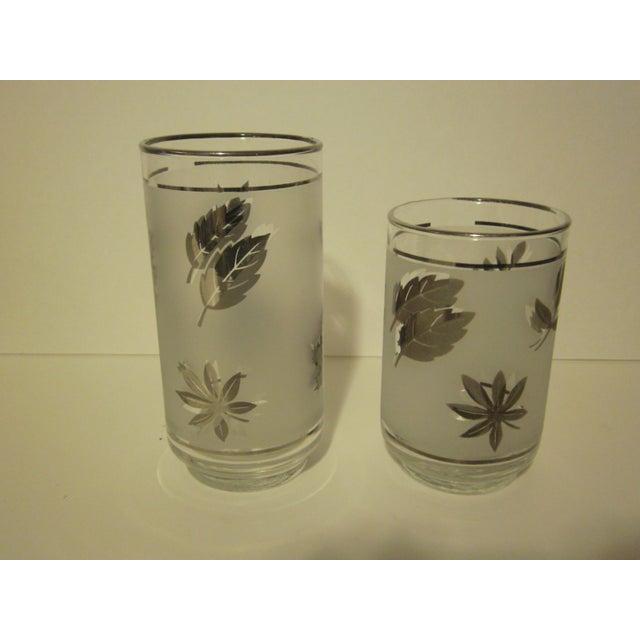 Platnium Leaf Pattern Barware - Set of 12 - Image 6 of 7