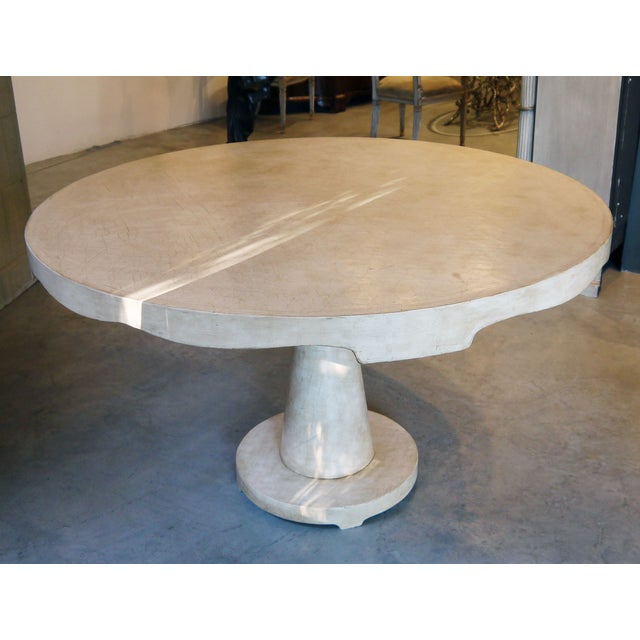 Moroccan Inspired Round Center Table - Image 3 of 8