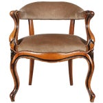 Image of Danish Walnut Library Chair