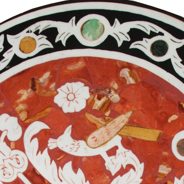 Pietra Dura Mosaic Table - Image 6 of 10