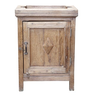 French Indo Colonial Style Nightstand