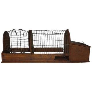 Folk Art Hamster Cage