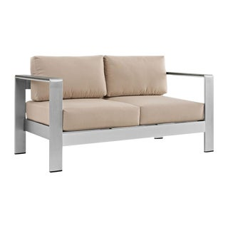 Shore Outdoor Aluminum Loveseat