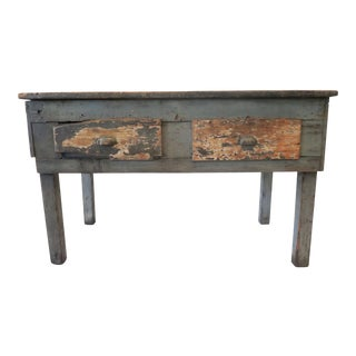 Rustic Wood Work Table