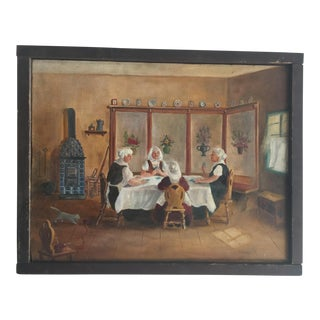 Dutch Diner Painting