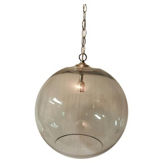 Bubble Light with Nickel Finish