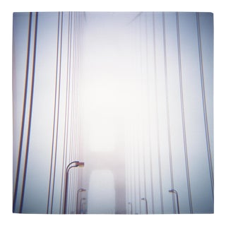 'Bridge Fog' Toy Camera Photograph