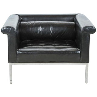 Stewart MacDougall Oversized Leather Club Chair