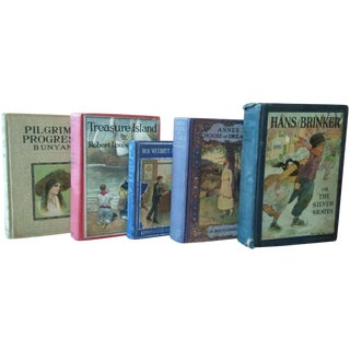 Vintage Books, Artful Covers - Set of 5