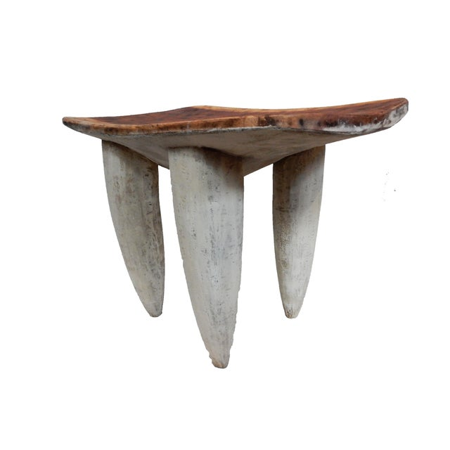 Senufo Stool or Table I coast - Image 8 of 9
