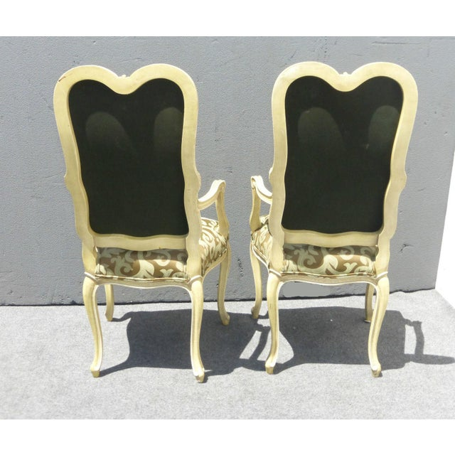 Karges Louis XV Style Dining Chairs - Set of 8 - Image 5 of 11