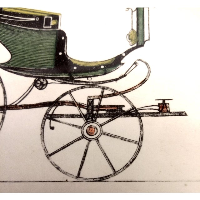 Image of Early 20th-Century Carriage Lithographs- Set of 4