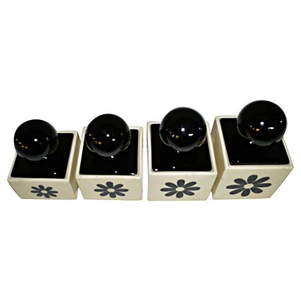Image of 1970's Canisters - Set of 4