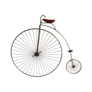C. Jeré Bicycle Wall Sculpture