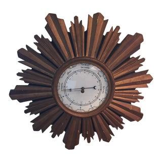 Antique Sun Barometer