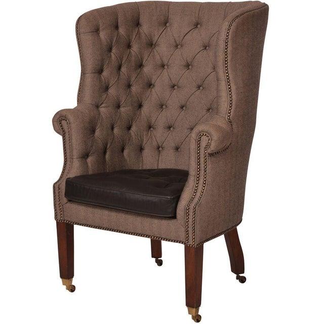 Image of Ralph Lauren Wingback Chair